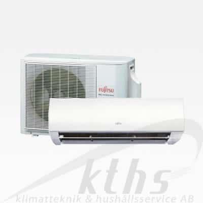 Fujitsu Slim Nordic Inventer LMCBN 12 Garanterar ned till -30°C Värmer upp till 140m²