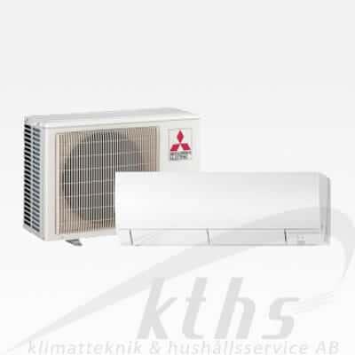 Mitsubishi Kirigamine FH35VEHZ 665 Garanterar ned till -25°C  Värmer upp till 140m²
