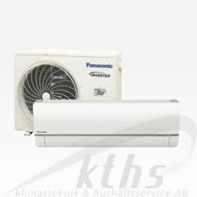 Panasonic HZ35TKE Garanterar ned till -35°C Värmer upp till 140m²