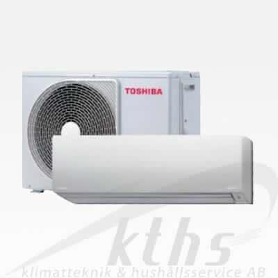 Toshiba Daiseikai 8 35 7,1 KW DSK8-35 Värmer upp till 180m² Underhållsvärme 5-13°C